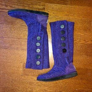Ugg cardy sweater boots 8